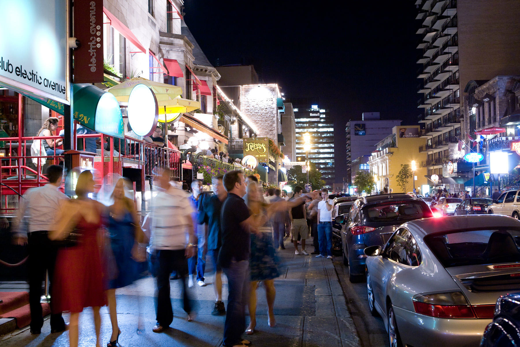 Hotels near Montreal Nightlife