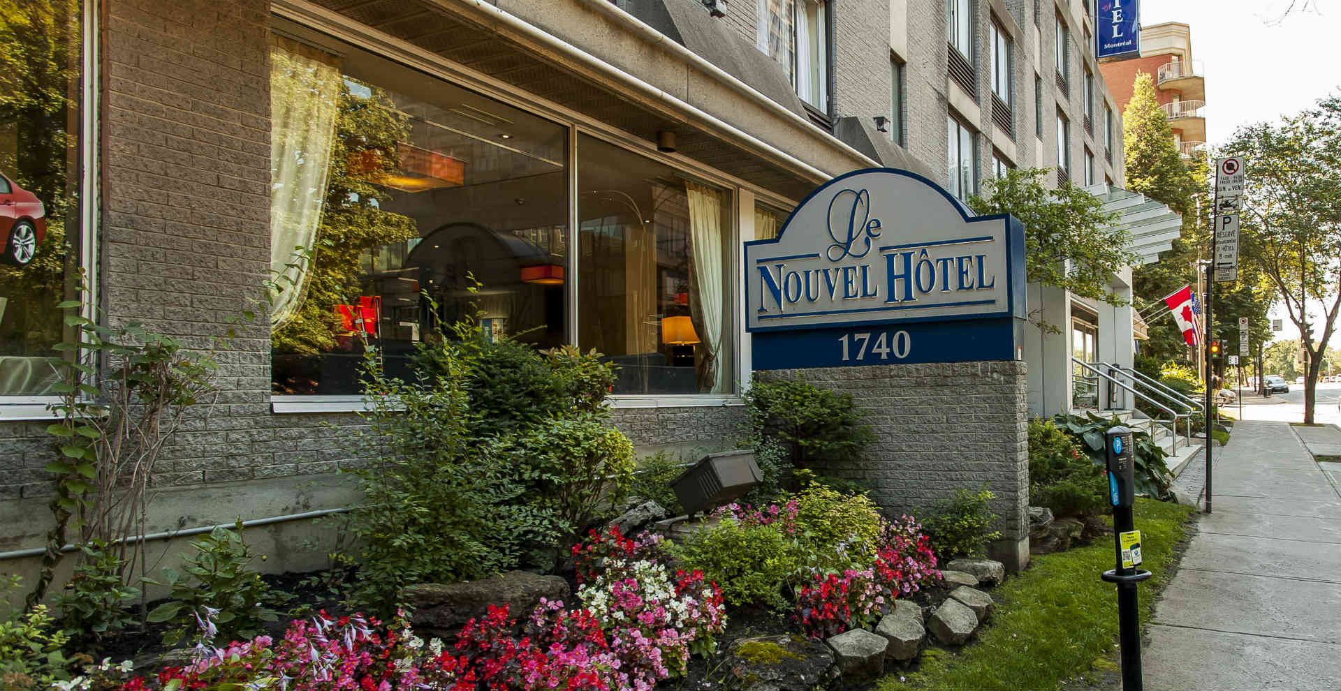 Hotel Exterior of Le Nouvel Hotel & Spa